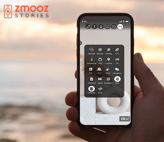 Smartphone Zmooz Apps