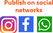 Publish your story on social network