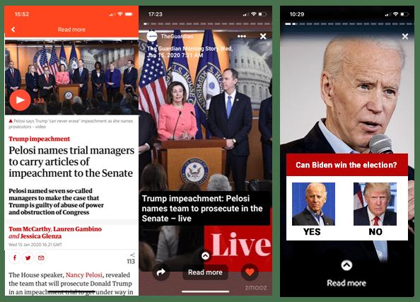 Web Story of Joe Biden
