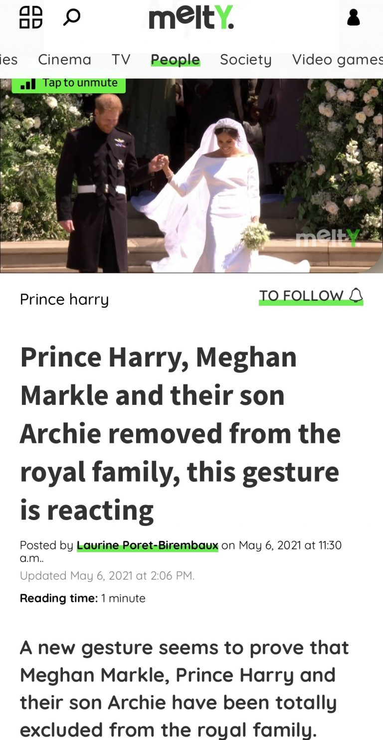 Story of Harry and Meghan